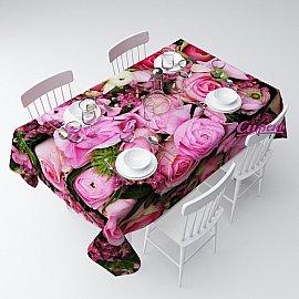 """Скатерть """"Розовое счастье"""", 120*145 см"""