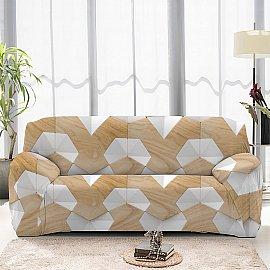 Чехол на диван двухместный ЧХТР070-13324, 145-180 см