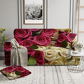 Чехол на диван трехместный ЧХТР071-05441, 190-230 см