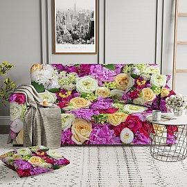 Чехол на диван трехместный ЧХТР071-08575, 190-230 см