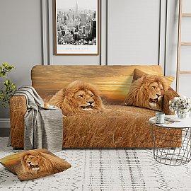 Чехол на диван двухместный ЧХТР070-13530, 145-180 см
