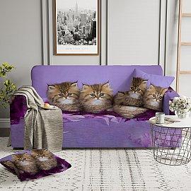 Чехол на диван четырехместный ЧХТР046-14968, 240-290 см