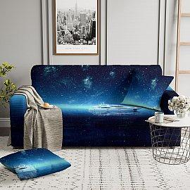 Чехол на диван одноместный ЧХТР069-14983, 90-140 см