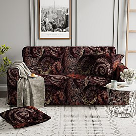 Чехол на диван одноместный ЧХТР069-18026, 90-140 см