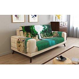 Накидка на 3-х местный диван с подлокотниками 01746, 195*195 см