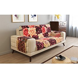 Накидка на 3-х местный диван с подлокотниками 07746, 195*195 см