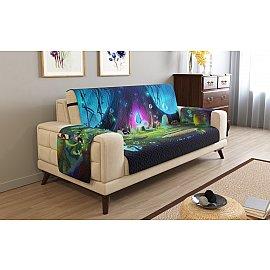 Накидка на 2-х местный диван с подлокотниками 10973, 135*195 см