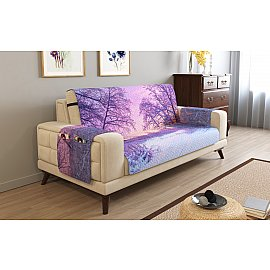 Накидка на 3-х местный диван с подлокотниками 13481, 195*195 см