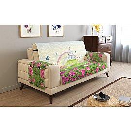 Накидка на 2-х местный диван с подлокотниками 17011, 135*195 см