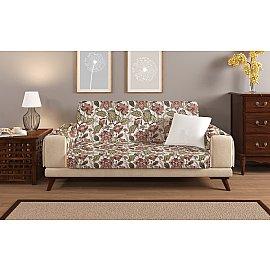 Накидка на 2-х местный диван с подлокотниками 18481, 135*195 см