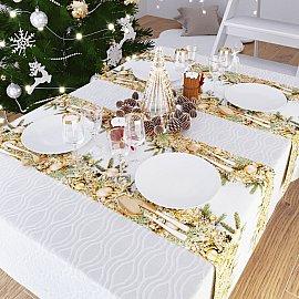"""Дорожка на стол """"Новогоднее чудо"""", 40*140 см"""