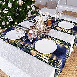 """Дорожка на стол """"Новогодняя сказка"""", 40*140 см"""