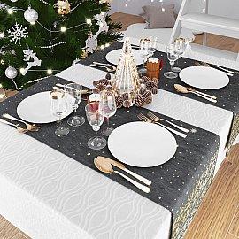 """Дорожка на стол """"Золотое Рождество"""", 40*140 см"""