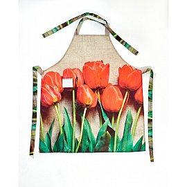 "Фартук ""Красный тюльпан"""