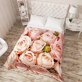 """Фотопокрывало стеганое """"Молодые розы"""", 200*220 см"""