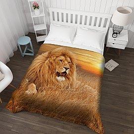 """Фотопокрывало стеганое """"Король лев"""", 200*220 см"""