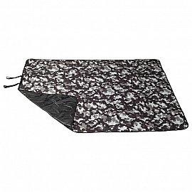 """Фотоплед для пикника """"Серый камуфляж"""", 140*170 см"""