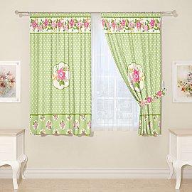 Комплект штор для кухни №04400