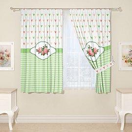 Комплект штор для кухни №05483