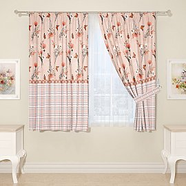 Комплект штор для кухни №14637