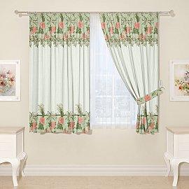 Комплект штор для кухни №17946