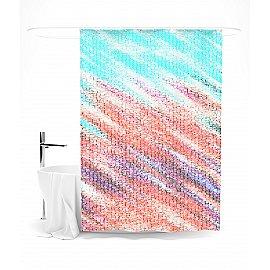 """Штора для ванной """"Яркая абстракция"""", 145*180 см"""