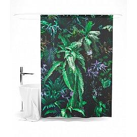 """Штора для ванной """"Прекрасные тропики"""", 145*180 см"""