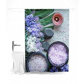 """Штора для ванной """"Ароматная композиция"""", 145*180 см"""