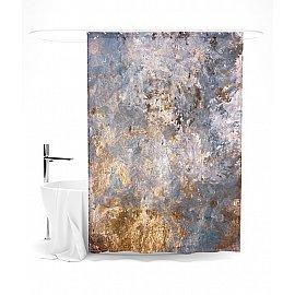 """Штора для ванной """"Красочный гранж"""", 145*180 см"""