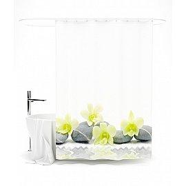 """Штора для ванной """"Японские мотивы """", 145*180 см"""