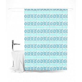"""Штора для ванной """"Ромбики"""", 145*180 см"""