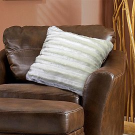 Наволочка декоративная Chinchilla Полоска, молочный, 48*48 см