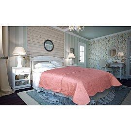Покрывало атлас сатин Amore Mio Peisley, розовый, 220*240 см