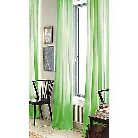 """Тюль """"Престиж - 3 Вуаль"""", зеленый, 250 см"""