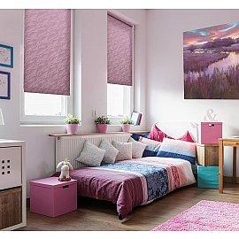 "Рулонная штора ""Сантайм-жаккард Веда Фиолетовый"", ширина 62 см"