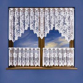 Комплект штор для кухни №3325, белый