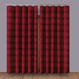 Комплект штор Primavera №1, бордовый