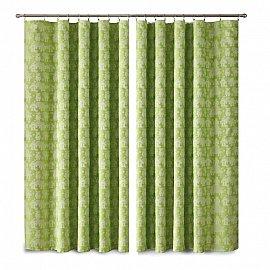 Комплект штор Primavera №1110073, зеленый