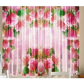 Комплект штор Розовая арка