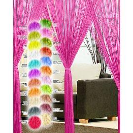 Кисея нитяная штора Haft, розовый, 250*90 см