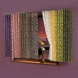 Занавеска-тюль №5924-08, фиолетовый