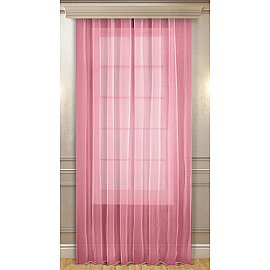 Тюль 04558-И, розовый, 150*240 см