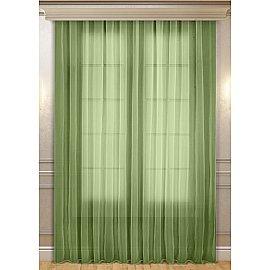 Тюль 04579-И, зеленый, 300*260 см