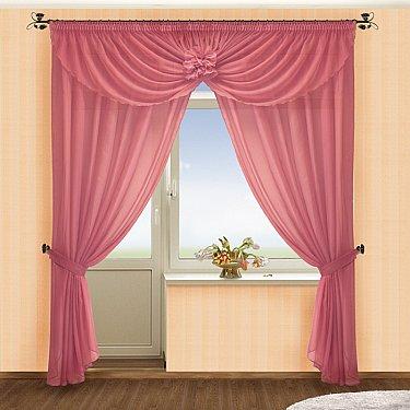 Комплект штор №022 Брусника