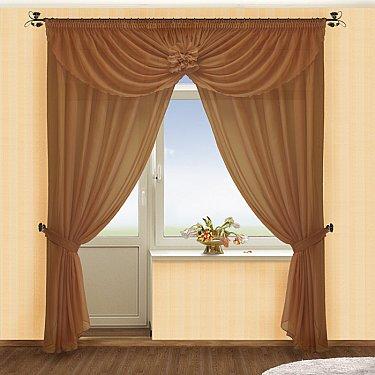Комплект штор №022 Шоколад