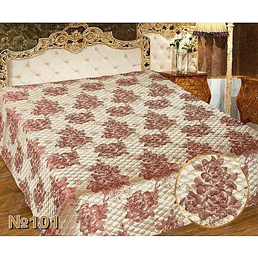 Покрывало I.M.A. Жаккард-атлас №101, золотой, розовый