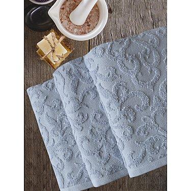 Полотенце махровое TexRepublic Cotton Piramid, серый