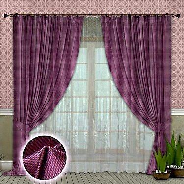 Комплект штор №104 Сиреневый