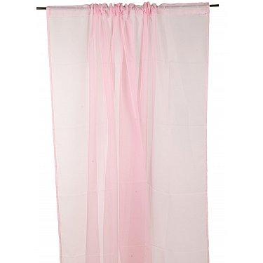"""Тюль """"Butterfly"""", розовый, 300*270 см-A"""