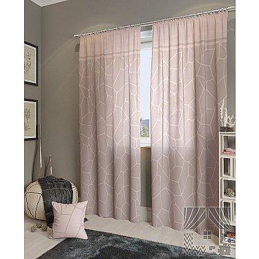"""Комплект штор """"Приал-К"""", розово-пепельный, 260 см-A"""